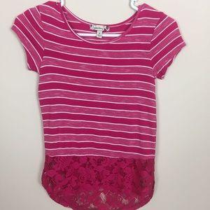 Girls Sz Small Speechless Shirt Top
